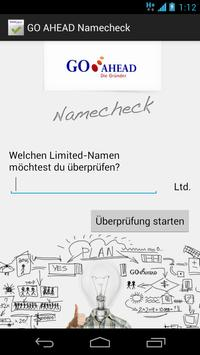 Namecheck-App Limited poster