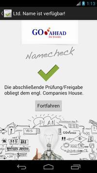 Namecheck-App Limited apk screenshot