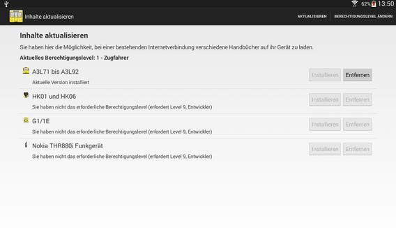 Das mobile VBU Handbuch apk screenshot