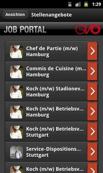 GVO Jobbörse App apk screenshot