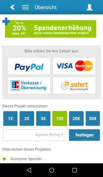 Donatia apk screenshot