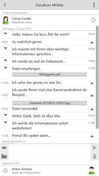 DeLaKom Mobile apk screenshot