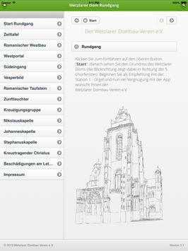 Rundgang im Wetzlarer Dom apk screenshot