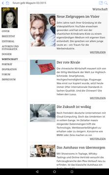 forum gelb Magazin apk screenshot