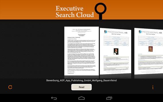 ExecutiveSearchCloud apk screenshot
