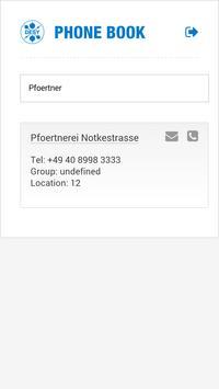 DESY Phone Book apk screenshot
