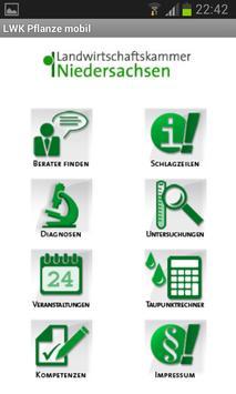 LWK Pflanze mobil poster