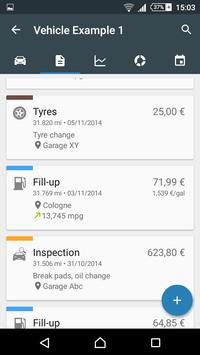 Drivenote: Fuel log & more apk screenshot