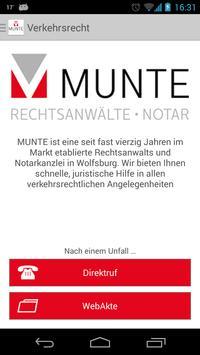 MUNTE poster