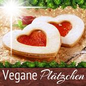 Vegan backen Rezepte Plätzchen icon
