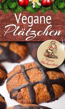Vegan backen Rezepte Plätzchen poster