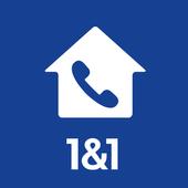 1&1 HomePhone icon