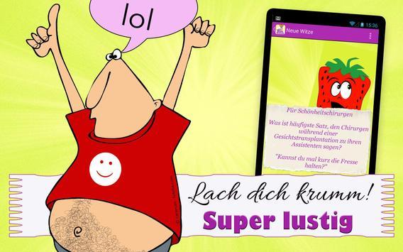 Neue Witze & lustige Sprüche apk screenshot