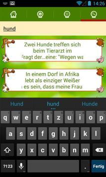 Versaute Witze - tierisch gut! apk screenshot