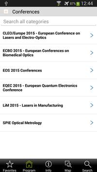 WORLD of PHOTONICS CONGRESS apk screenshot
