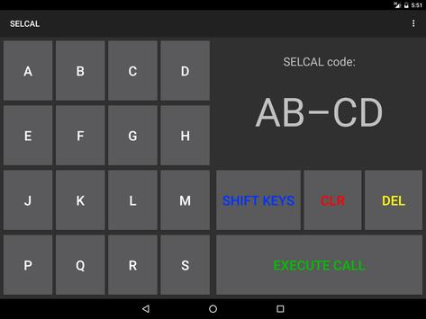 SELCAL Encoder apk screenshot