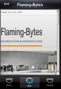 Flaming-Bytes Mobile apk screenshot