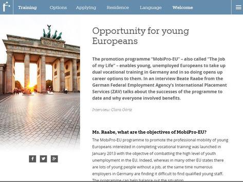 Career Compass Germany apk screenshot