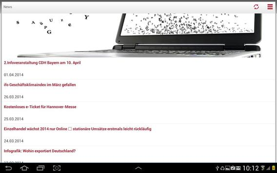 CDH Verband apk screenshot