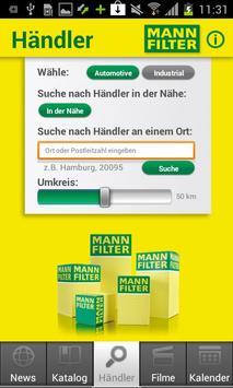 MANN-FILTER apk screenshot
