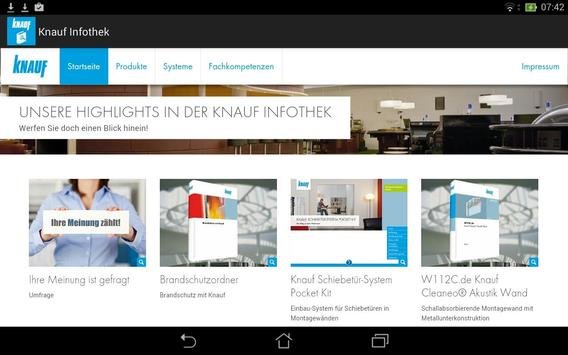 Knauf Infothek apk screenshot