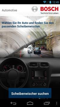 Bosch Scheibenwischer poster