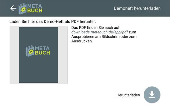 Metabuch apk screenshot