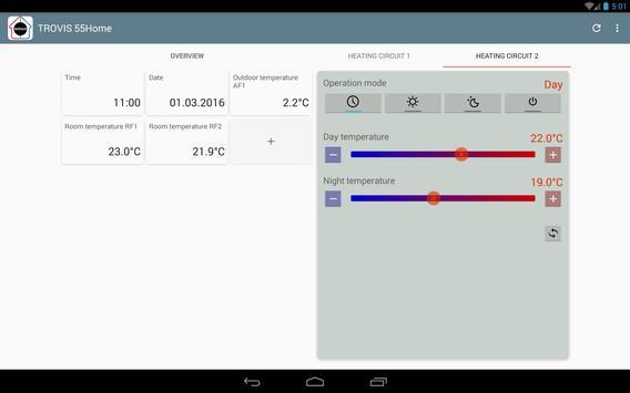 TROVIS 55Home apk screenshot