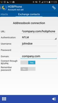 HOBPhone apk screenshot