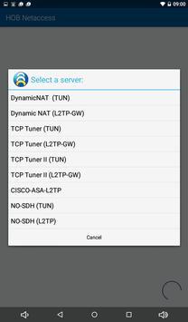 HOB NetAccess apk screenshot
