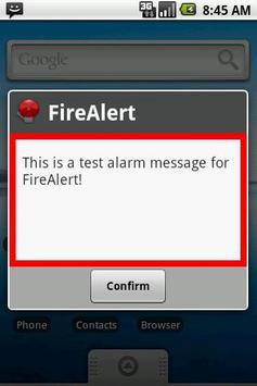 FireAlert apk screenshot