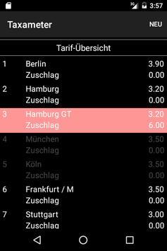 Taxameter apk screenshot