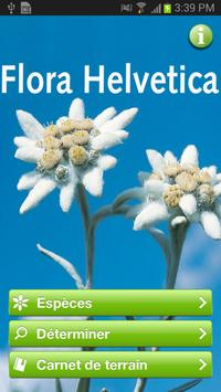 Flora Helvetica Mini français poster