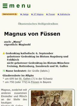 Heiligenlexikon poster