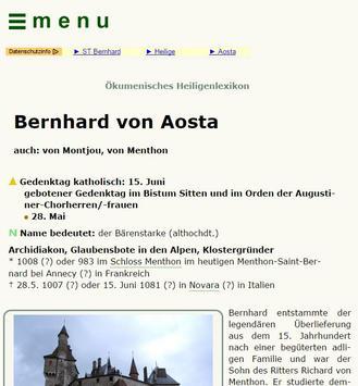 Heiligenlexikon apk screenshot
