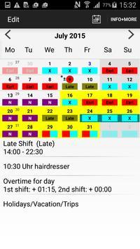 Roster-Calendar poster
