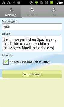 Bürger melden online poster