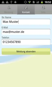 Bürger melden online apk screenshot
