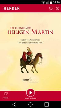 Legende vom heiligen Martin poster