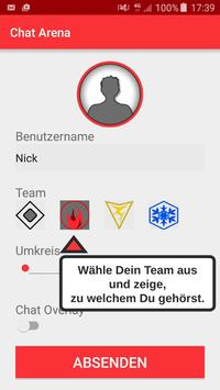 Chat Arena - for Pokemon GO apk screenshot