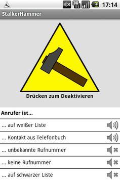 Stalker Hammer poster