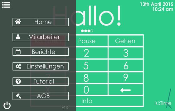 isi:Time Time & Attendance apk screenshot