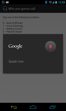 Who you gonna call? apk screenshot