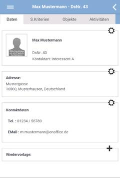 onOffice App apk screenshot