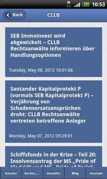 CLLB Rechtsanwälte apk screenshot
