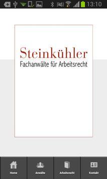 Steinkühler-Arbeitsrecht poster