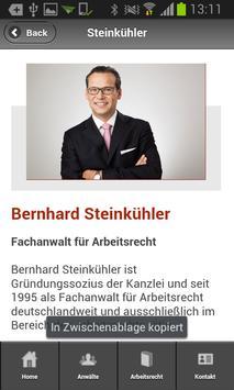 Steinkühler-Arbeitsrecht apk screenshot