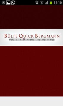 Bülte - Quick - Bergmann poster
