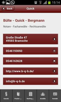 Bülte - Quick - Bergmann apk screenshot