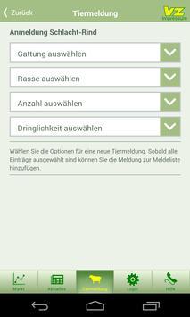 VZ-Tiermeldung apk screenshot
